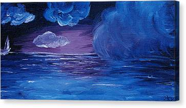 Sea Storm Canvas Print by Jera Sky