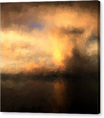 Sea Storm Canvas Print by Lonnie Christopher