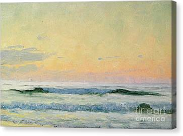 Sea Study Canvas Print by AS Stokes
