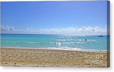 Canvas Print - Sea View M2 by Francesca Mackenney