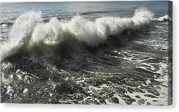Sea Waves1 Canvas Print by Svetlana Sewell