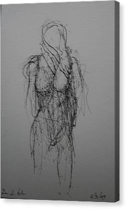 Sea Wiind Canvas Print by Dean Corbin