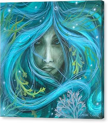 Sea Witch Canvas Print by Amanda Clark