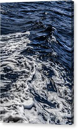 Canvas Print featuring the photograph Sea6 by Cazyk Photography