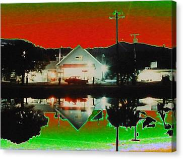 Seabeck General Store Canvas Print by Tim Allen