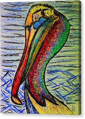 Seabirds Canvas Print by W Gilroy