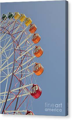 Seacle Ferris Wheel Canvas Print by Andy Smy