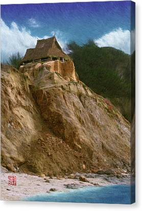 Seacliff House Canvas Print