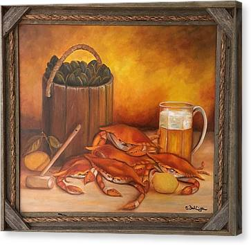 Seafood Night Canvas Print
