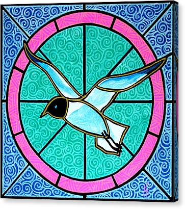 Seagull 4 Canvas Print by Jim Harris