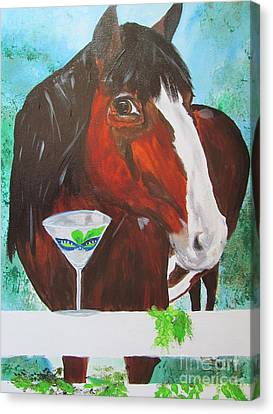 Seahawk Fan Canvas Print by Susan Snow Voidets
