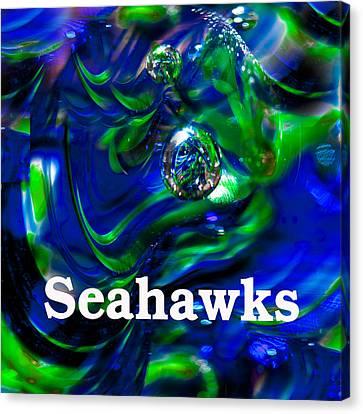 Seahawk Image 1 Canvas Print by David Patterson