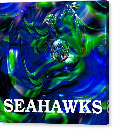 Seahawks 3 Canvas Print by David Patterson