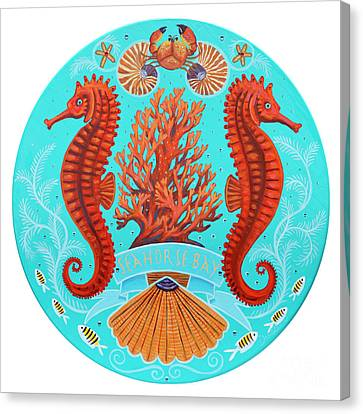 Seahorse Bay Canvas Print by Danielle Perry