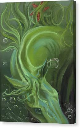 Canvas Print - Seahorse by Kim McElroy