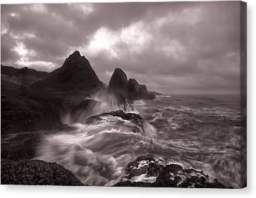 Seal Rock Thunder Canvas Print