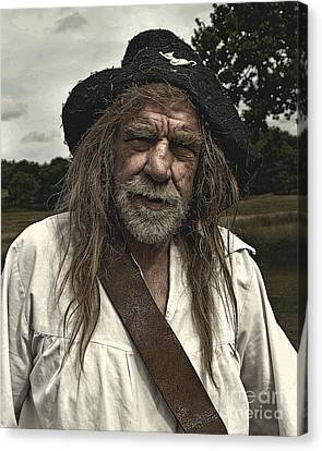 Sealed Knot Actor 2 Canvas Print by Linsey Williams