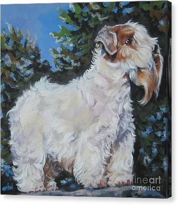 Sealyham Terrier Canvas Print by Lee Ann Shepard