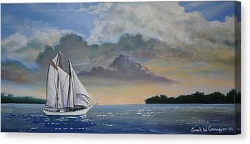 Seamester  Canvas Print