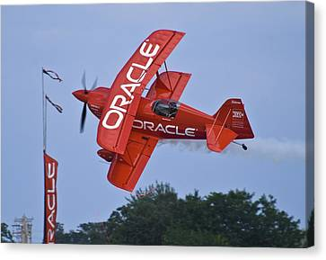 Sean Tucker - Team Oracle Canvas Print