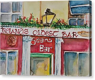 Seans Irish Pub Canvas Print