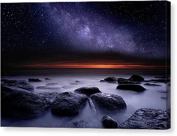 Canvas Print featuring the photograph Search Of Meaning by Jorge Maia