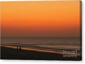 Searching Canvas Print by Jeff Breiman