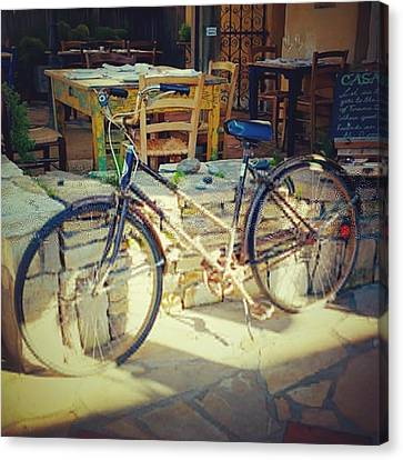 Transportation Canvas Print - Sears Bicycle. Old School Way To Get by Shari Warren
