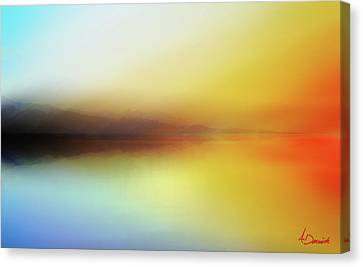 Seascape Canvas Print by Ahmed Darwish