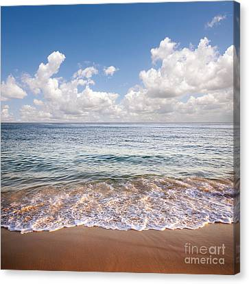 Warm Summer Canvas Print - Seascape by Carlos Caetano