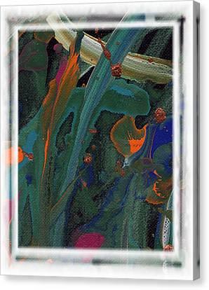 Seascape Enhanced Canvas Print by Angela L Walker