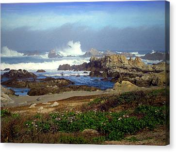 Seascape Heaven Canvas Print