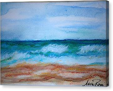 Seascape I Canvas Print by Neva Rossi