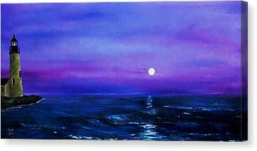 Seascape II Canvas Print by Tony Rodriguez