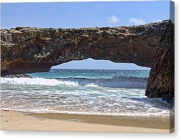 Seascape Land Bridge Canvas Print