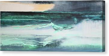 Seascape Canvas Print by Lou Gibbs
