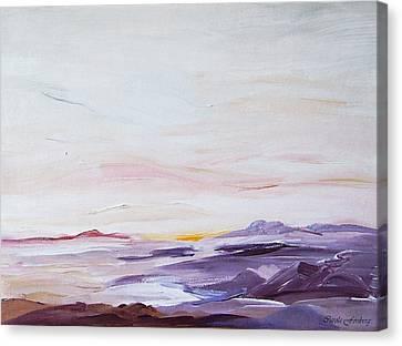 Seascape Nr 1 Canvas Print by Carola Ann-Margret Forsberg
