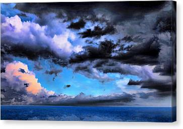 Seascape Canvas Print by Theresa Campbell