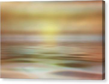 Canvas Print featuring the photograph Seascape by Tom Mc Nemar