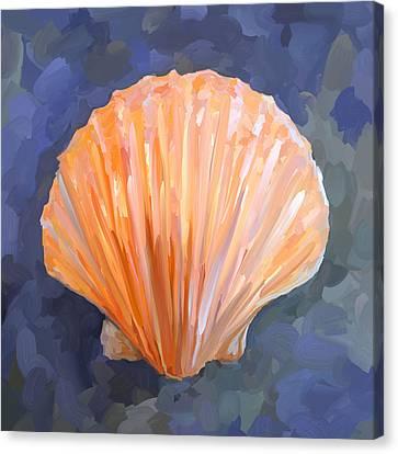Seashell I Canvas Print by Jai Johnson