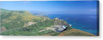Pch Canvas Print - Seashore Along Highway 1, Mendocino by Panoramic Images