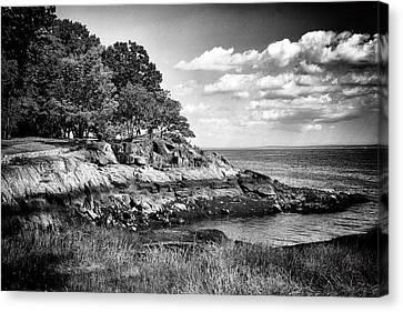 Manor Canvas Print - Seaside Cliffs by Jessica Jenney
