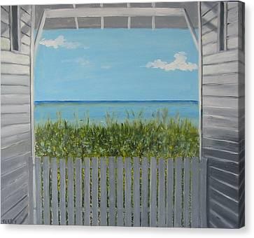 Seaside Canvas Print by John Terry