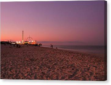 Seaside Park I - Jersey Shore Canvas Print