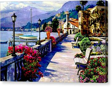Seaside Pathway Canvas Print by Ron Chambers