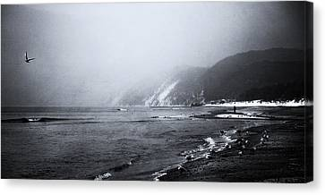 Seaside Stories Canvas Print by Art of Invi