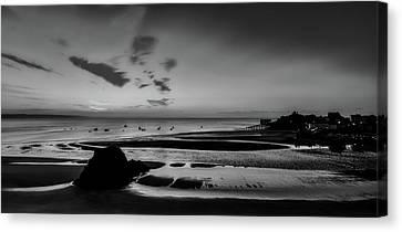 Seaside Sunrise - Tenby England Canvas Print