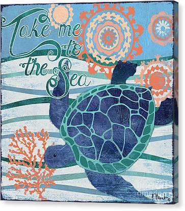 Seaside Treasures IIi Canvas Print by Paul Brent
