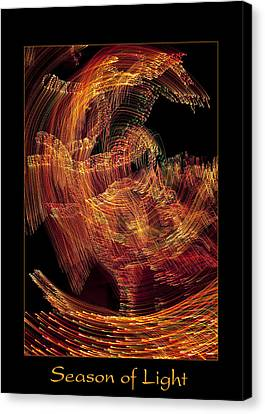 Season Of Light 1 Canvas Print by Bell And Todd