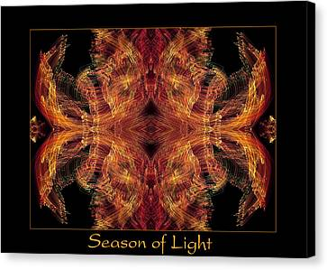 Canvas Print featuring the photograph Season Of Light 2 by Bell And Todd